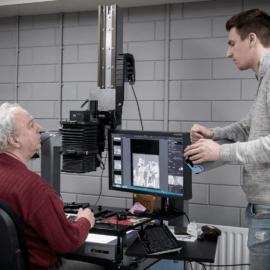 GMS digitaliseert op hoge kwaliteit dia's