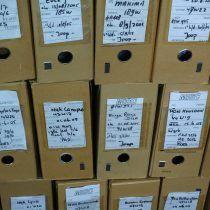Dossiers scannen