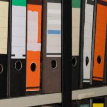 Administratie documenten en dossiers