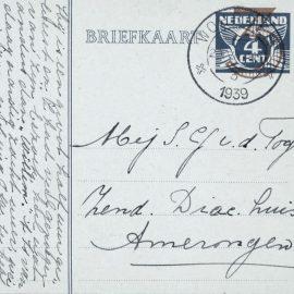 Briefkaart Collectie Correspondentie